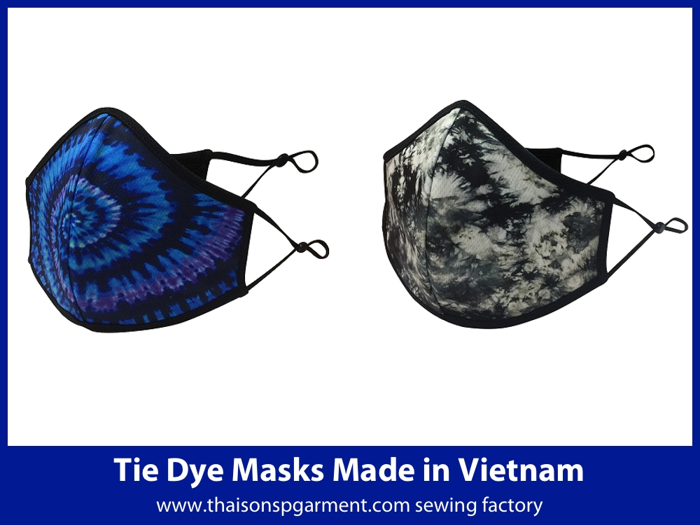 Digital printed face coverings